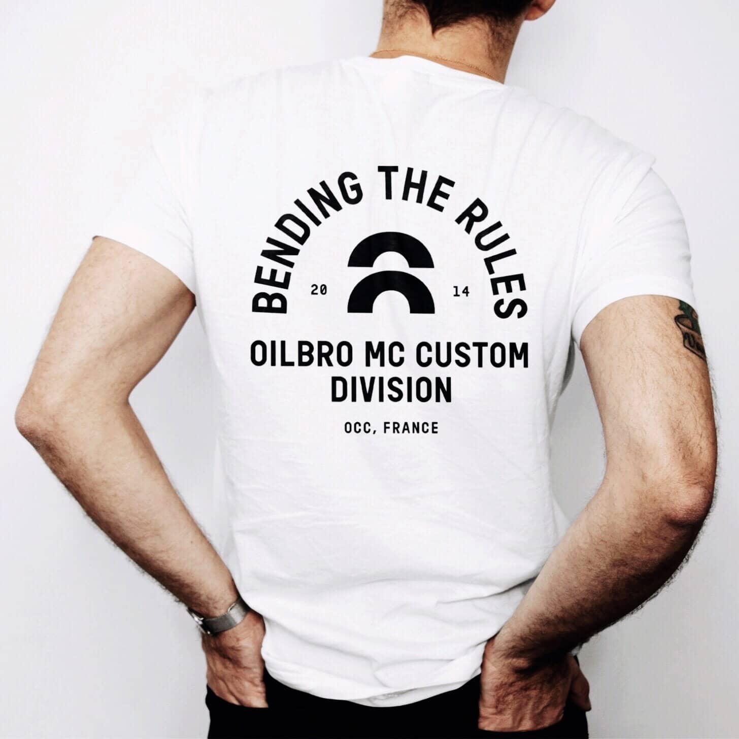 tshirt the original de Oilbro Motorcycles